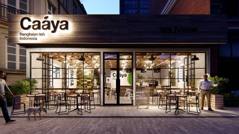 Desain Caaya Cafe Jakarta - Nusa Multi Dimensi 1