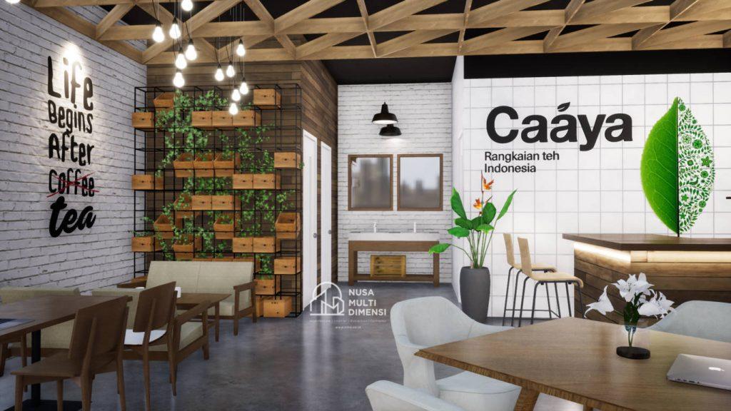 Desain Caaya Cafe Jakarta - Nusa Multi Dimensi 5