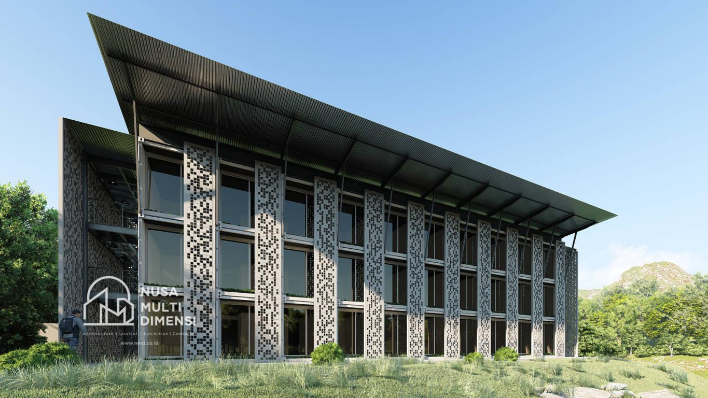 Jasa Desain Eksterior Interior Dormitory Ipb Bogor Nusa Multi Dimensi