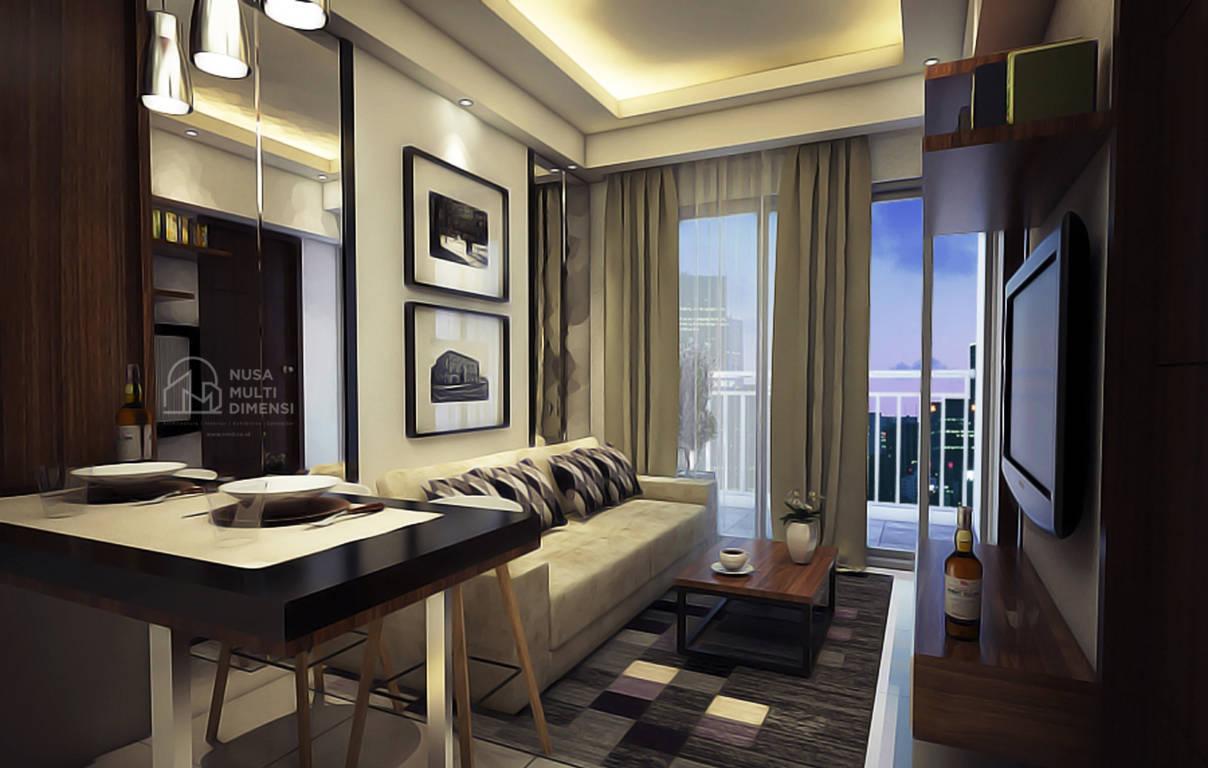 Desain Interior Apartemen Amazana Serpong - Nusa Multi Dimensi 5