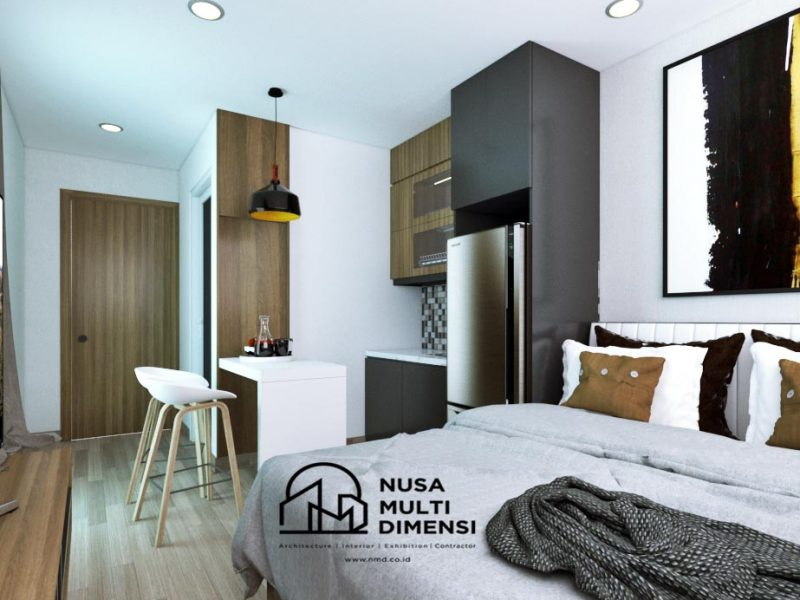Desain Interior Apartemen Bogor 1