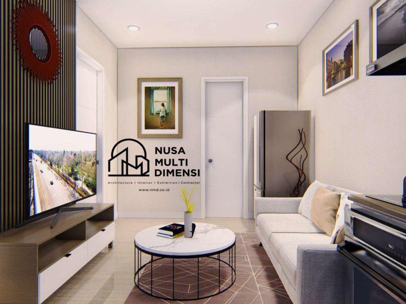 Desain Interior Apartemen Summarecon 4