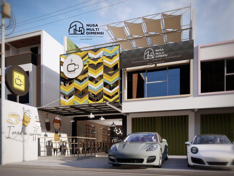 Desain Cocote Cafe Depok 1