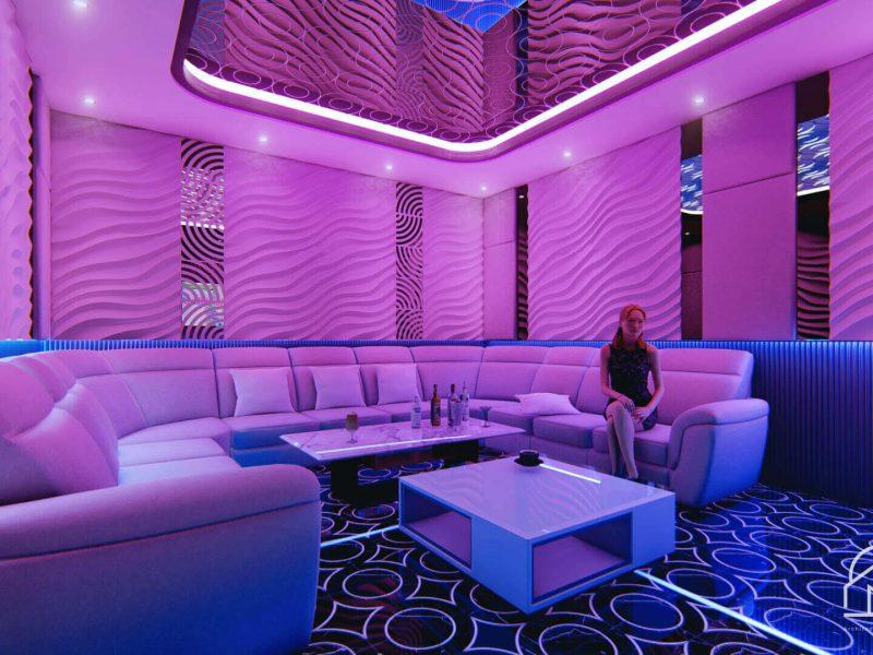 Desain Interior Zentrum Karaoke Serpong 13