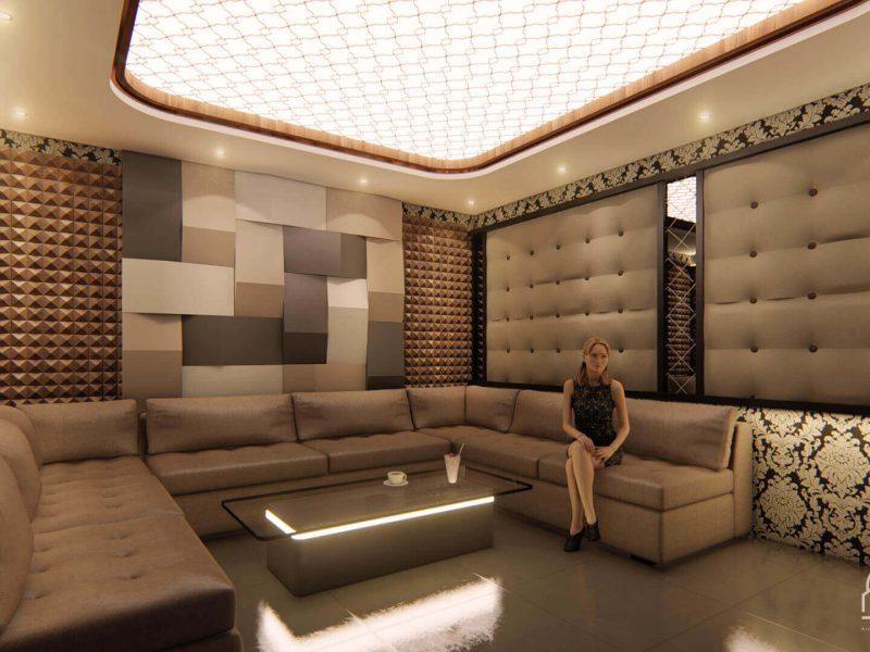 Desain Interior Zentrum Karaoke Serpong 8