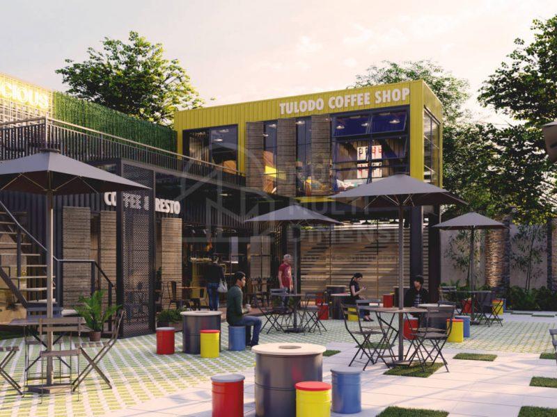 Desain Tulodo Coffee Depok - Nusa Multi Dimensi 1