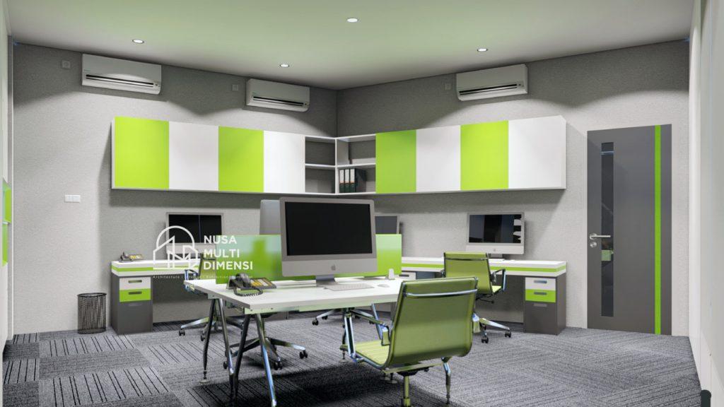 Jasa Desain Interior Kantor Bpjs Ketenagakerjaan Bogor Nmd Architect