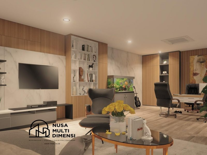 Desain Interior Kantor EMG Tangerang 13