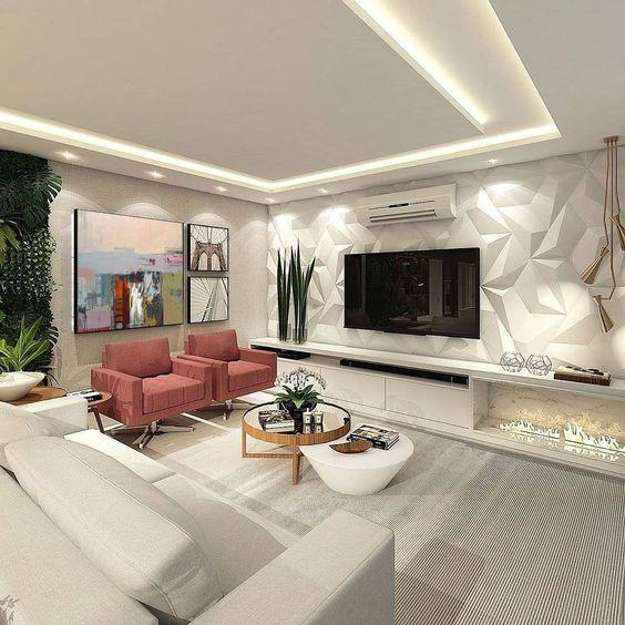 Desain Interior Ruang Keluarga 3