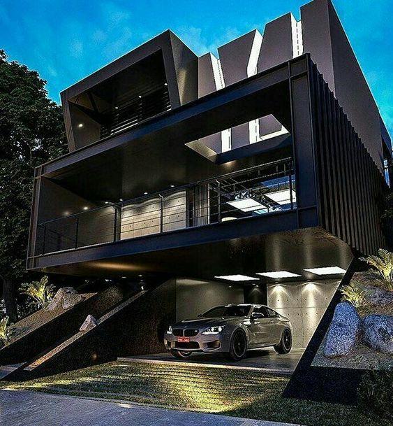 Desain Rumah Gelap 1
