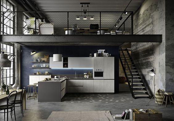 Desain Rumah Industrial 2