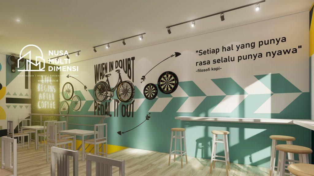 Desain Aloen Cafe Depok