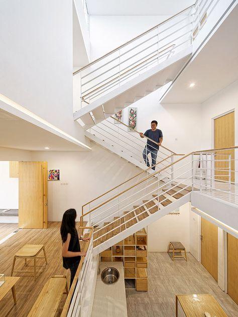 Desain Rumah Split Level 4