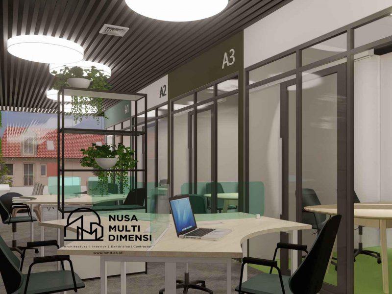 Desain Interior Virtual Office 4