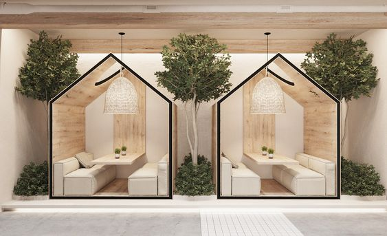Desain Interior Cafe 2021 5