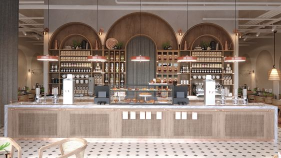 Desain Interior Cafe 2021 7