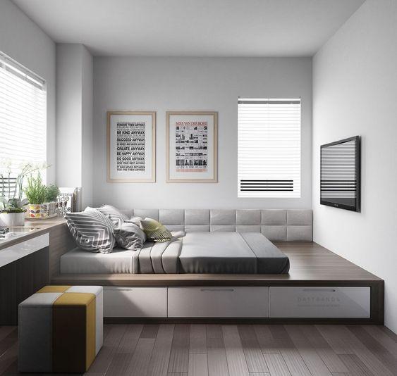 Desain Kamar Tidur Korea 3