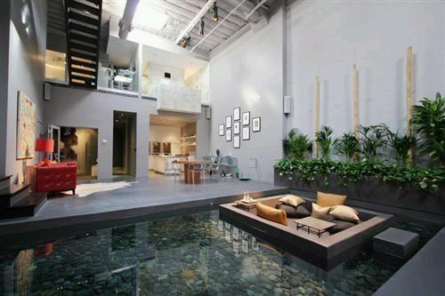 Desain Kolam Koi dalam Rumah 2
