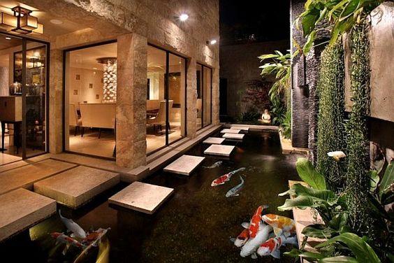 Desain Kolam Koi dalam Rumah 3